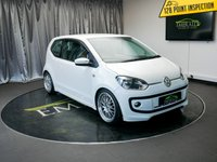 USED 2012 12 VOLKSWAGEN UP 1.0 MOVE UP 3d 59 BHP £0 DEPOSIT FINANCE AVAILABLE, AIR CONDITIONING, AUX INPUT, CLIMATE CONTROL, CRUISE CONTROL, DAYTIME RUNNING LIGHTS, REAR PARKING SENSORS, TRIP COMPUTER