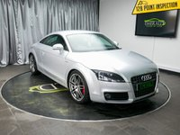 USED 2010 10 AUDI TT 2.0 TDI QUATTRO S LINE SPECIAL EDITION 2d 170 BHP £0 DEPOSIT FINANCE AVAILABLE, AIR CONDITIONING, AUX INPUT, BLUETOOTH CONNECTIVITY, BOSE SOUND SYSTEM, CLIMATE CONTROL, KENWOOD HEAD UNIT, SATELLITE NAVIGATION, STEERING WHEEL CONTROLS, TRIP COMPUTER.