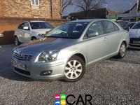 USED 2007 57 TOYOTA AVENSIS 1.8 TR VVT-I 5d 128 BHP PART EX CLEARANCE