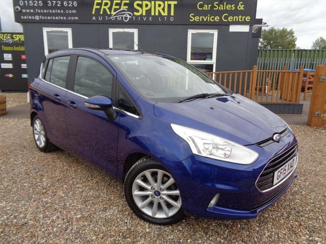 USED 2015 15 FORD B-MAX 1.0T EcoBoost Titanium (s/s) 5dr (EU5) DAB-Heated Screen-Low Mileage