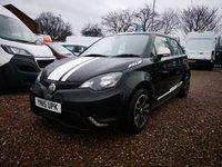 2015 MG 3 1.5 3 STYLE VTI-TECH 5d 106 BHP £4000.00