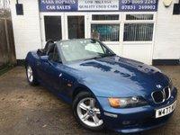 2000 BMW Z3 2.0 Z3 ROADSTER 2d 148 BHP £4995.00