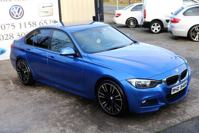 2013 BMW 3 SERIES 2.0 318D M SPORT 141 BHP (FINANCE & WARRANTY)