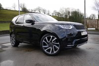 """USED 2017 17 LAND ROVER DISCOVERY 3.0 TD6 HSE 5d AUTO BLACK PACK DYNAMIC PACK AND 22"""" WHEELS"""