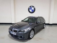 USED 2015 15 BMW 5 SERIES 2.0 520D M SPORT TOURING 5d AUTO 188 BHP 1 Owner/Bmw History/Pro-Nav/Harmon/ Power Boot/ Leather