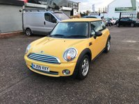 2009 MINI HATCH ONE 1.4 ONE 3d 94 BHP £3999.00