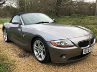 USED 2005 54 BMW Z4 3.0 Z4 SE ROADSTER 2d 228 BHP F/S/H, Full Leather, Air-Con