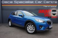 """USED 2013 62 MAZDA CX-5 2.2 D SE-L NAV 5d 148 BHP 4x4 AWD Finished in stunning Blue Reflex with 17"""" Alloy Wheels and Black Cloth Interior. Full Mazda Service History, Bluetooth, Parking Sensors, Privacy Glass, Stop/Start, Climate Control, Cruise Control"""