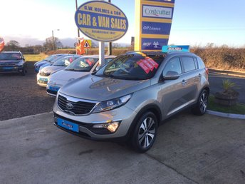 2011 KIA SPORTAGE KX-3 2.0 CRDI AWD **ONE LADY OWNER**FULL KIA HISTORY** £8995.00
