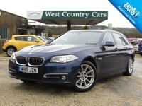 USED 2015 15 BMW 5 SERIES 2.0 520D LUXURY TOURING 5d 188 BHP Big Specification Executive Estate