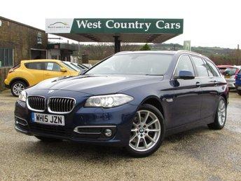 2015 BMW 5 SERIES 2.0 520D LUXURY TOURING 5d 188 BHP £15000.00