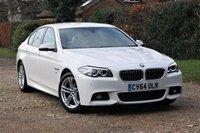 2014 BMW 5 SERIES 2.0 520D M SPORT 4d AUTO 188 BHP £SOLD