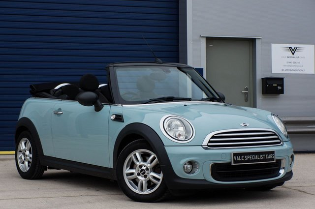 2013 13 MINI CONVERTIBLE 1.6 ONE (PEPPER PACK)