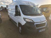 USED 2015 65 PEUGEOT BOXER 2.2 HDI 335 L3H2 PROFESSIONAL P/V 1d 130 BHP 2015 DIRECT FROM PEUGEOT CONTRACTS WITH FULL SERVICE HISTORY