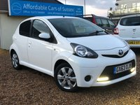 2013 TOYOTA AYGO 1.0 VVT-I MOVE WITH STYLE 5d 68 BHP £5295.00