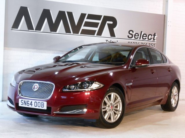2014 64 JAGUAR XF 2.2 D LUXURY 4d AUTO 163 BHP