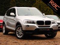 USED 2011 BMW X3 2.0 XDRIVE20D SE 5d AUTO 181 BHP