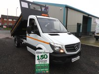 2017 MERCEDES-BENZ SPRINTER 2.1 314CDI 140 BHP 1 WAY TIPPER LOW 5000 MILES  £19995.00