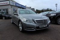 2010 MERCEDES-BENZ E-CLASS 2.1 E250 CDI BLUEEFFICIENCY AVANTGARDE 4d AUTO 204 BHP £7995.00
