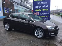 2014 VAUXHALL ASTRA 2.0 ELITE CDTI S/S 5d 163 BHP, 2 owners, only 39000 miles £7495.00