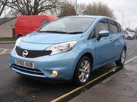 2015 NISSAN NOTE 1.2 ACENTA PREMIUM DIG-S 5d AUTO 98 BHP £9595.00