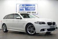 2015 BMW 5 SERIES 2.0 520D DIESEL M SPORT TOURING AUTOMATIC 190 BHP £17990.00