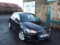 USED 2015 65 AUDI A1 1.0 TFSI SE 3d 93 BHP One Owner Full Audi Service Record