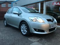 2009 TOYOTA AURIS 1.4 VVT-I LIMITED EDITION 5d 97 BHP £SOLD