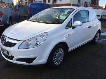 View our VAUXHALL CORSA VAN