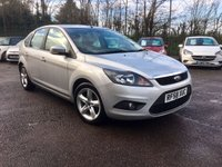 2009 FORD FOCUS 1.6 TDCI ZETEC 5d  WITH SAT NAV AND ALLOYS £3500.00