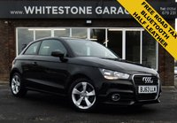 USED 2013 63 AUDI A1 1.6 TDI SPORT 3d 103 BHP LOW MILES, FREE ROAD TAX, EXCELLENT MPG,
