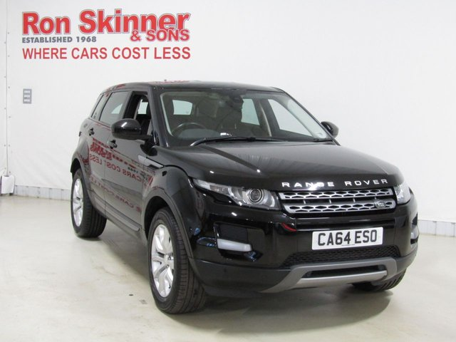 View our 2014 64 LAND ROVER RANGE ROVER EVOQUE 2.2 SD4 PURE TECH 5d 190 BHP
