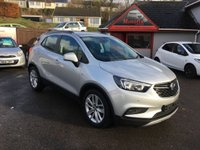 USED 2017 66 VAUXHALL MOKKA X 1.4 ACTIVE S/S 5d 138 BHP LOW MILEAGE, ONE OWNER,LOW PRICE MOKKA X