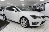 USED 2016 65 SEAT LEON 1.4 ECO TSI FR TECHNOLOGY 150 BHP 18'S NAV LED LIGHTS GLACIER WH
