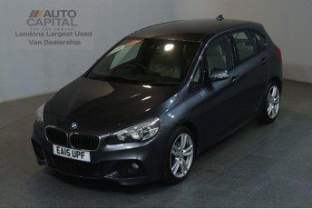 2015 BMW 2 SERIES 1.5 216D M SPORT ACTIVE TOURER EURO 6 START STOP 114 BHP AIR CON £11990.00