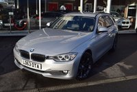 USED 2013 63 BMW 3 SERIES 2.0 320D LUXURY TOURING 5d 181 BHP FINANCE TODAY WITH NO DEPOSIT