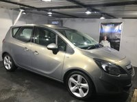 USED 2010 60 VAUXHALL MERIVA 1.7 EXCLUSIV CDTI 5d 128 BHP Bluetooth   :   Satellite Navigation   :   Cloth upholstery   :   Fully stamped service history