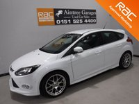USED 2013 63 FORD FOCUS 1.6 ZETEC S TDCI 5d 113 BHP AMAZING CAR  WITH SERVICE HISTORY, FINISHED IN GLEAMING WHITE THE CAR HAS SOME GREAT OPTION, FULL ZETEC S BODY KIT, SAT NAV, ELE KEYLESS ENTREE,  ,  18INCH UP GRADED ALLOYS, ELEC FOLDING MIRRORS BLUETOOTH PHONE PREP, , Aintree Garages are Pleased to Present a Wide Range of Pre Owned Vehicles. All Of Our Cars are Fully Checked And Prepared to Meet our high standard  We have a RAC approved work shop . All of our Cars Come With a Top Quality auto guard Extendable Warranty and 12 Months  Roadside A
