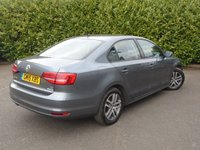 USED 2015 15 VOLKSWAGEN JETTA 2.0 SE TDI BLUEMOTION TECHNOLOGY 4d 148 BHP ONLY 39,000 MILES PART EXCHANGE AVAILABLE / ALL CARDS / FINANCE AVAILABLE