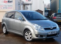 USED 2009 58 TOYOTA COROLLA 2.2 VERSO SR D-4D 5d 135 BHP 1 OWNER | FULL TOYOTA SERVICE HISTORY