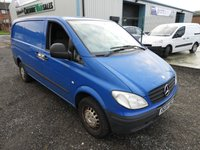 2008 MERCEDES-BENZ VITO 2.1 109 CDI LONG 95 BHP PART EXCHANGE TO CLEAR NO VAT TO PAY  £3495.00