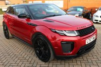 USED 2017 67 LAND ROVER RANGE ROVER EVOQUE 2.0 TD4 HSE DYNAMIC 3d 177 BHP Pan Roof+Satnav+Heated Leather