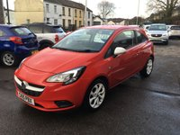 USED 2015 15 VAUXHALL CORSA 1.2 STING 3d 69 BHP ONLY 24,000 MILES, AIR CON, CRUISE CONTROL, USB PORT