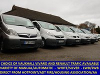 2012 RENAULT TRAFIC CHOICE OF SWB AND LWB RENAULT TRAFIC / VAUXHALL VIVARO £6295.00
