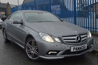 2010 MERCEDES-BENZ E CLASS 3.0 E350 CDI BLUEEFFICIENCY SPORT 2d AUTO 231 BHP £8495.00