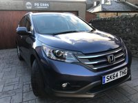USED 2014 64 HONDA CR-V 2.2 I-DTEC SE 5d 148 BHP REV CAM+DAB+B/TOOTH+FHSH+4X4+1 OWNER