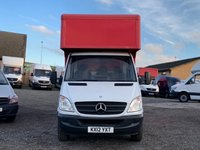 USED 2012 12 MERCEDES-BENZ SPRINTER 2.1 313 CDI LWB LUTON BOX  RARE 15FT BOX, ONE OWNER, ONLY 87K MILES,ROLLER SHUTTER