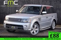 USED 2010 10 LAND ROVER RANGE ROVER SPORT 5.0 V8 HSE 5d AUTO 510 BHP Full Service History