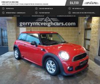 USED 2012 MINI HATCH ONE ONE Great fun to drive, funky image, unique interior, economical engines