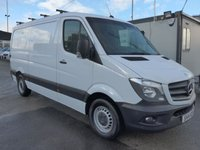 2014 MERCEDES-BENZ SPRINTER 313 CDI MWB LOW ROOF, 130 BHP [EURO 5], 1 COMPANY OWNER £11495.00